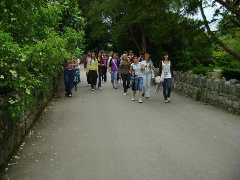 Foto grupo en Bunrraty