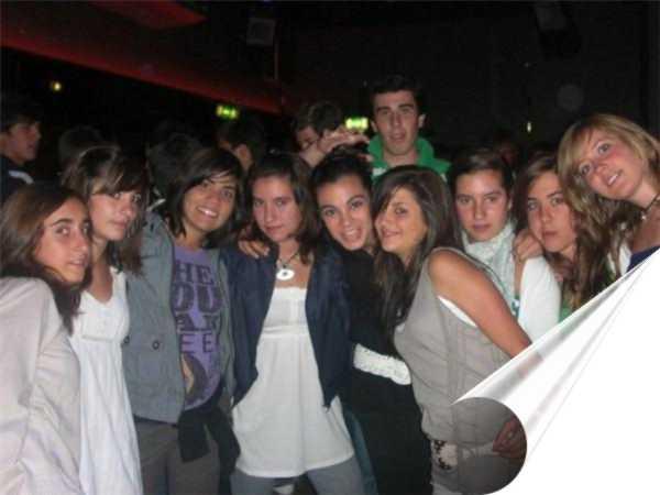 Grupo de alumnos en Galway